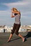 Mädchen-Tanzen Lizenzfreie Stockfotografie