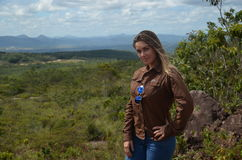 Mädchen u. Sabana 2 Lizenzfreie Stockfotografie