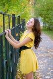 Mädchen und Herbst Lizenzfreies Stockfoto