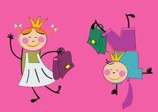 Mädchen und Junge Lizenzfreies Stockfoto