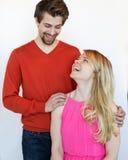 Mädchen und Kerl Lizenzfreies Stockfoto