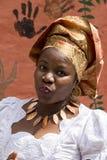 Mädchen von Nigeria stockbild