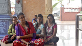 Mädchen von Thaipusam - Inder Holyday Stockfotografie