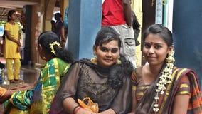 Mädchen von Thaipusam - Inder Holyday Stockfoto