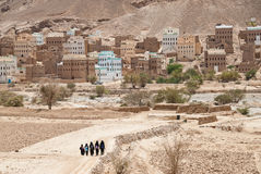 Mädchen in Yemen Stockbilder