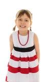 Mädchen zeigt Zähne Lizenzfreie Stockbilder