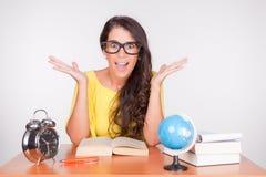 Mädchen zurück zu Schule Lizenzfreies Stockfoto