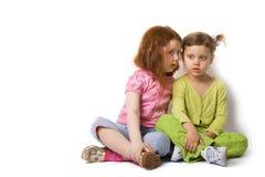 Mädchen zwei lizenzfreies stockfoto