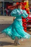 Mädchenausführender Disneyland Stockfotografie