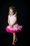 Mädchenballerina Lizenzfreies Stockbild