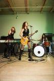Mädchenband. Stockfotografie