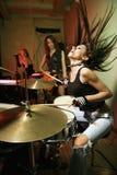 Mädchenband. Stockbild