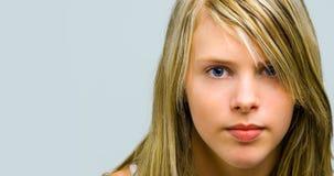 Mädchenblick Lizenzfreies Stockfoto