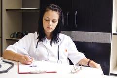 Mädchendoktor Stockbilder