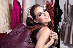 Mädcheneinkaufen Lizenzfreie Stockfotografie