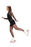 Mädcheneislauf Stockfotos