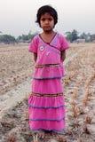 Mädchenkind in Indien Lizenzfreies Stockfoto