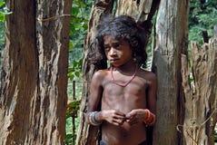 Mädchenkind in Indien Lizenzfreie Stockfotografie