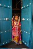 Mädchenkind in Indien Lizenzfreies Stockbild