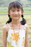 Mädchenlächeln Lizenzfreies Stockbild