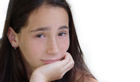 Mädchenlächeln Lizenzfreie Stockfotografie