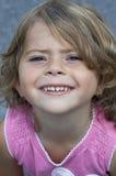 Mädchenlächeln stockfotos