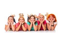 Mädchenleistung Lizenzfreies Stockbild