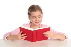 Mädchenlesebuch Lizenzfreies Stockbild
