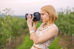 Mädchenphotographien Lizenzfreies Stockbild