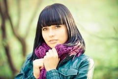 Mädchenportrait Stockfoto