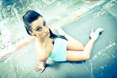 Mädchenportrait Lizenzfreies Stockfoto