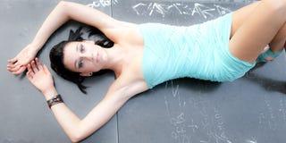 Mädchenportrait Stockbild