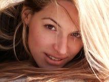 Mädchenportrait Stockbilder