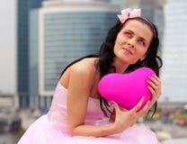 Mädchenpuppe mit Innerem Lizenzfreie Stockfotografie