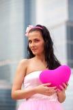 Mädchenpuppe mit Innerem Lizenzfreies Stockfoto