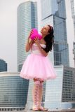 Mädchenpuppe mit Innerem Lizenzfreies Stockbild