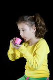 Mädchenspielen Lizenzfreies Stockfoto