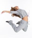 Ausdrücken des Tanzes Stockfotografie