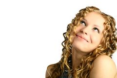 Mädchenträume Lizenzfreies Stockfoto