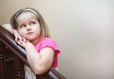 Mädchenträumen Stockfoto