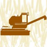 Mähdrescher Harvester-5 Lizenzfreie Stockfotos