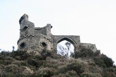 Mähen Sie Spindel-Schloss oder Unsinnigkeit, Schüren-auf-Trent Lizenzfreies Stockfoto