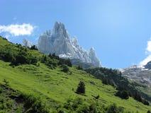 Mäktiga höjdpunkter nära Engelberg, Schweiz Royaltyfri Foto