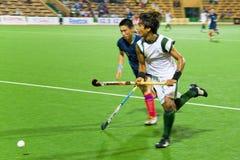 män 2009 för asia cupfinalhockey s Royaltyfria Foton