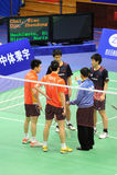 män 2011 för doubles för asia badmintonmästerskap s arkivbild