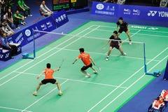 män 2011 för doubles för asia badmintonmästerskap s royaltyfri fotografi