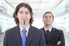 män för affär för bakgrund 3d vita isolerade bild Royaltyfria Foton