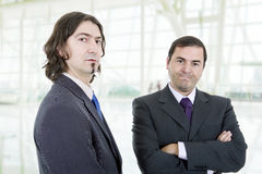 män för affär för bakgrund 3d vita isolerade bild Royaltyfri Fotografi