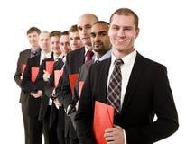män för affärsförlagor Royaltyfri Bild