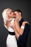 Män och kvinnaförälskelse. Varm kärlekshistoria. Royaltyfri Bild